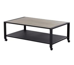 Table basse PARK AVENUE Noir mat