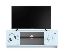Meuble TV SOUND Blanc