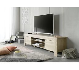 meuble tv theo ch ne sonoma meubles tv but. Black Bedroom Furniture Sets. Home Design Ideas