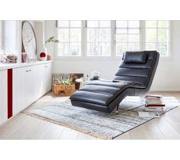 Fauteuils - chaise longue PEACE Simili noir
