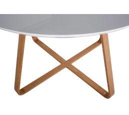 Table ronde HELIA Blanc