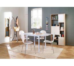 Tables - Table avec allonges LISA Blanc