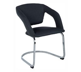 Lot de 2 fauteuils ADELE gris
