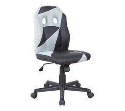 MINI DUO Fauteuil de bureau Noir et gris