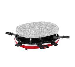 Raclette/pierrade gril crêpe SIGNATURE RAC 3 EN 1-RED