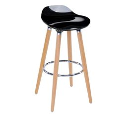Tabouret de bar RODEO Noir