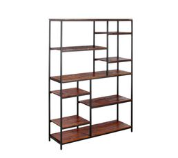 bibliotheque bois metal une echelle de bibliotheque en. Black Bedroom Furniture Sets. Home Design Ideas