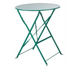 TROPICAL Table pliable Verte