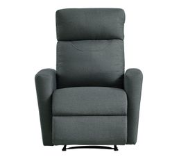 fauteuil relax motion ii tissu gris fauteuils but. Black Bedroom Furniture Sets. Home Design Ideas