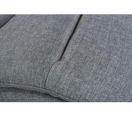 Chaise longue PEACE Tissu gris clair