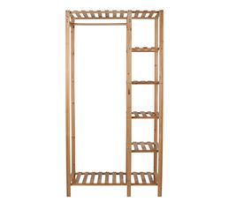 Structure penderie 2 ingenius naturel portants penderies but - Ikea portant penderie ...