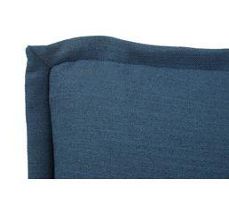 Chauffeuse enfant LOU Tissu bleu