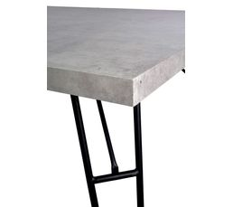 Table rectangle CONCRETE Effet béton