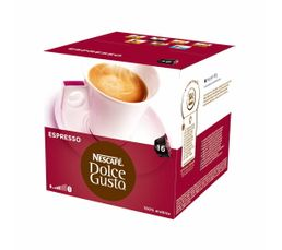Dosettes � caf� Dolce Gusto NESCAFE DOLCE GUSTO Expresso x 16