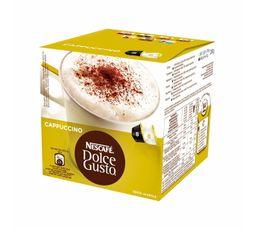 Dosettes � caf� Dolce Gusto NESCAFE DOLCE GUSTO Cappuccino, 8 tasses