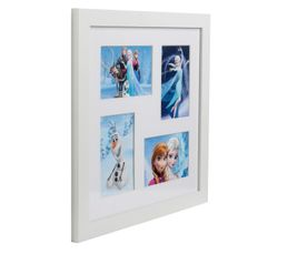 Photographies - Cadre multivues 38x38cm FROZEN FAMILY Blanc