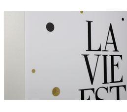 Cadre d�co 34x44 cm TECO Blanc
