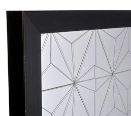 Miroir 50X70 cm ORIGAMI Noir