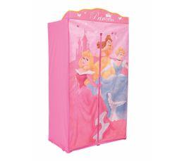 Armoires - Armoire enfant en tissu PRINCESSES Rose