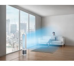 purificateur d 39 air dyson tp02 cool tower wh ventilation but. Black Bedroom Furniture Sets. Home Design Ideas