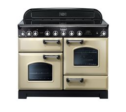 cuisini re induction falcon cdl110ei creme chrome cuisini res but. Black Bedroom Furniture Sets. Home Design Ideas