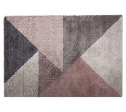Tapis - Tapis 160x230 cm GRAPHIC Beige / rose