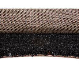 Tapis 133x180 cm SAXO LUREX noir