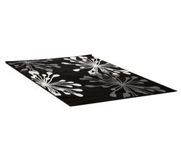 Tapis 160X230 ARTIFICE LUREX Noir