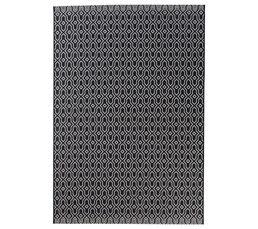 MAROCO Tapis 160x230 cm Noir