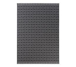 MAROCO Tapis 120x170 cm Noir