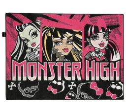 Descente de lit 95x133 cm MONSTER HIGH ROLLER imprimé