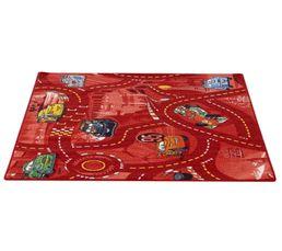 Tapis Pour Votre Salon - Tapis 95x133 cm WORLD OF CARS II rouge