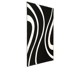 MIRAGE Tapis 160x225 cm Noir