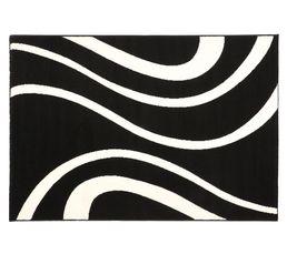 Tapis 115x160 cm MIRAGE Noir