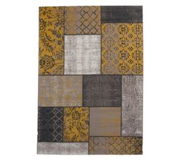 tapis 160x230 cm jaipur jaune tapis but. Black Bedroom Furniture Sets. Home Design Ideas