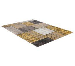 Tapis 160x230 cm JAIPUR jaune