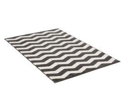 Tapis - Tapis 100x150 cm CHEVRON LUREX gris
