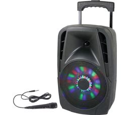 PARTY LIGHT& SOUND Enceinte nomade PARTY-8LED