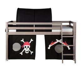 Rideau pour lit mi-haut et HAPPY superposé83-20164 décor pirate