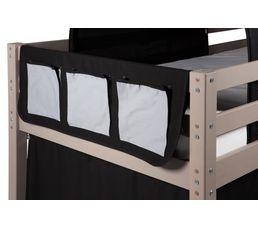 Pochette pour lit mi-haut et HAPPY superposé83-90085 décor pirate