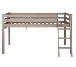 Lit combiné 90x190 cm HAPPY 80-13306-45 gris