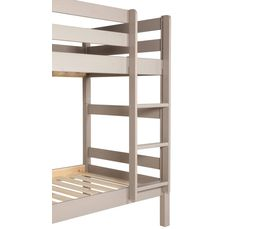 Lit superposé 90x190 cm HAPPY 80-13403-45 gris
