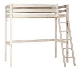 Lit mezzanine 90x190 cm HAPPY 80-13504-2  Blanc