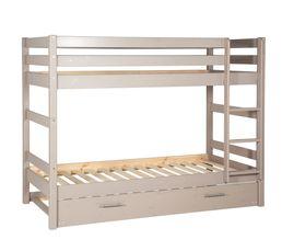 Tiroir lit pour lit superposé HAPPY 82-20096-45 gris