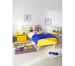 lit 90x190 cm play 80 19107 70 jaune lits but. Black Bedroom Furniture Sets. Home Design Ideas