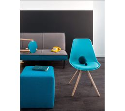 Chaises - Chaise OSLO Turquoise