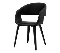 Chaise SAN Noir/noir