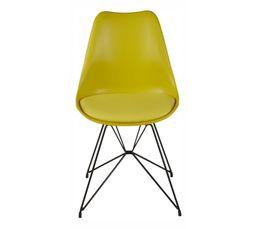 Chaises - Chaise SIRIUS 22216-18 jaune