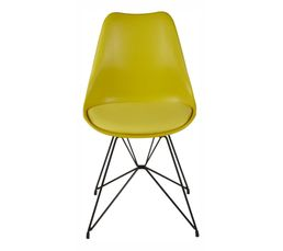 Chaise SIRIUS 22216-18 jaune