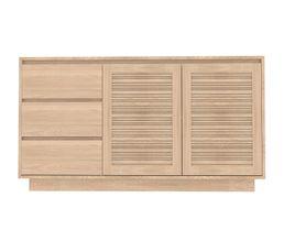 Buffets - Buffet 2 portes/3 tiroirs LESTER 50036-1